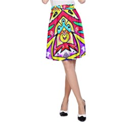 Photoshop 200resolution A-Line Skirt