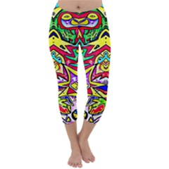 Photoshop 200resolution Capri Winter Leggings