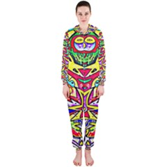 Photoshop 200resolution Hooded Jumpsuit (Ladies)