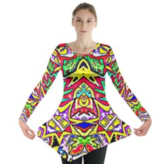 Photoshop 200resolution Long Sleeve Tunic