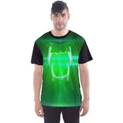 UNDER ATTACK - GREEN  Men s Sport Mesh Tee