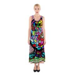 BIPOLAR COLOUR ME UP Full Print Maxi Dress