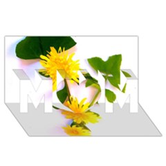 Margaritas Bighop Design Mom 3d Greeting Card (8x4)