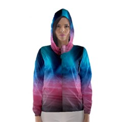 Aura by Bighop collection Hooded Wind Breaker (Women)