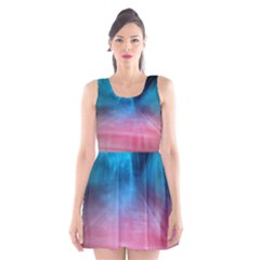 Aura By Bighop Collection Scoop Neck Skater Dress
