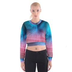 Aura by Bighop collection Women s Cropped Sweatshirt