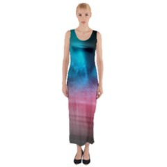 Aura by Bighop collection Fitted Maxi Dress
