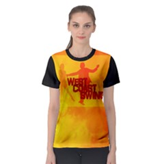 West Coast Swing Women s Sport Mesh Tee