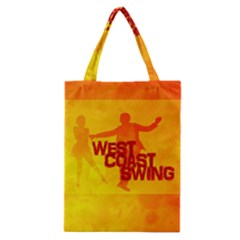 West Coast Swing Classic Tote Bag