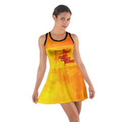 West Coast Swing Cotton Racerback Dresses
