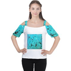 Aquamarine Collection Women s Cutout Shoulder Tee
