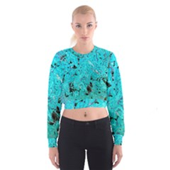 Aquamarine Collection Women s Cropped Sweatshirt