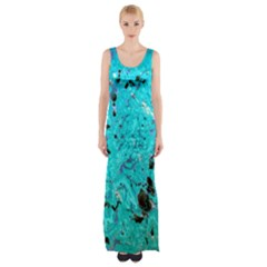 Aquamarine Collection Maxi Thigh Split Dress