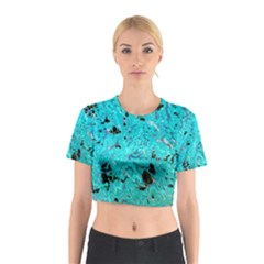 Aquamarine Collection Cotton Crop Top