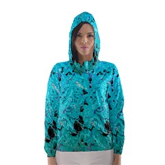 Aquamarine Collection Hooded Wind Breaker (women)