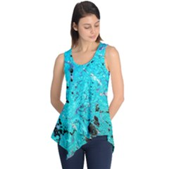 Aquamarine Collection Sleeveless Tunic