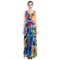 Colors of the world Bighop Collection by Jandi Full Print Maxi Dress