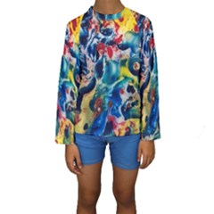 Colors of the world Bighop Collection by Jandi Kid s Long Sleeve Swimwear