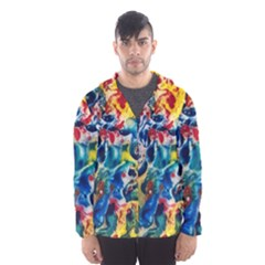 Colors of the world Bighop Collection by Jandi Hooded Wind Breaker (Men)