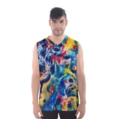 Colors of the world Bighop Collection by Jandi Men s Basketball Tank Top