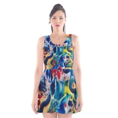 Colors of the world Bighop Collection by Jandi Scoop Neck Skater Dress