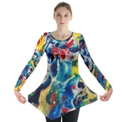 Colors of the world Bighop Collection by Jandi Long Sleeve Tunic