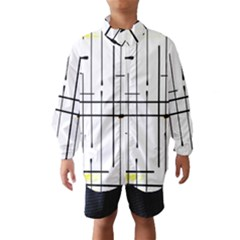 White Limits By Jandi Wind Breaker (Kids)