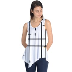 White Limits By Jandi Sleeveless Tunic