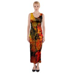Jandi Fitted Maxi Dress