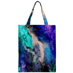 Violet Art Zipper Classic Tote Bag