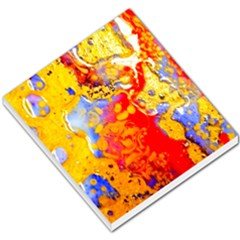Gold And Red Small Memo Pads