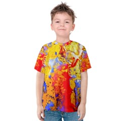 Gold And Red Kid s Cotton Tee