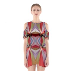 Lit160613001005 Cutout Shoulder Dress