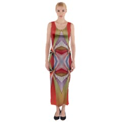 Lit160613001005 Fitted Maxi Dress