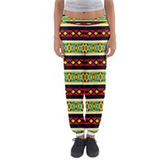 Rhombus Chains And Other Shapes Women s Jogger Sweatpants