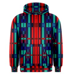 Stripes And Rectangles  Men s Zipper Hoodie