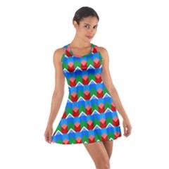 Shapes rows Cotton Racerback Dress