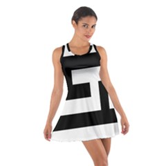 Black and White Racerback Dresses