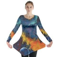 Space Balls Long Sleeve Tunic