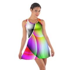 Psychedelic Design Racerback Dresses