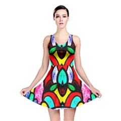 Second Best  Reversible Skater Dress