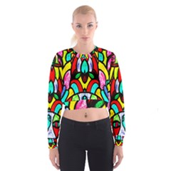 Second Best  Women s Cropped Sweatshirt