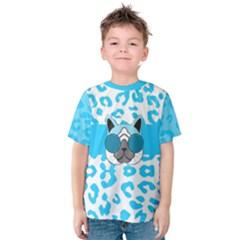 Wild Turquoise Kid s Cotton Tee