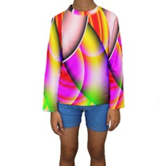 Colorful 1 Kid s Long Sleeve Swimwear
