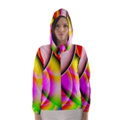 Colorful 1 Hooded Wind Breaker (women)