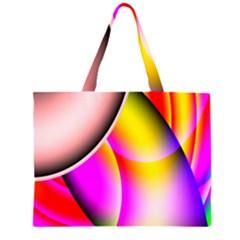 Colorful 1 Large Tote Bag