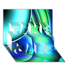 New 2 Take Care 3d Greeting Card (7x5)