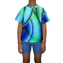 New 2 Kid s Short Sleeve Swimwear