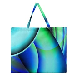 New 2 Zipper Large Tote Bag