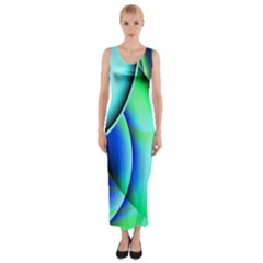 New 2 Fitted Maxi Dress